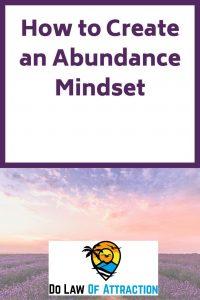 abundant mindset