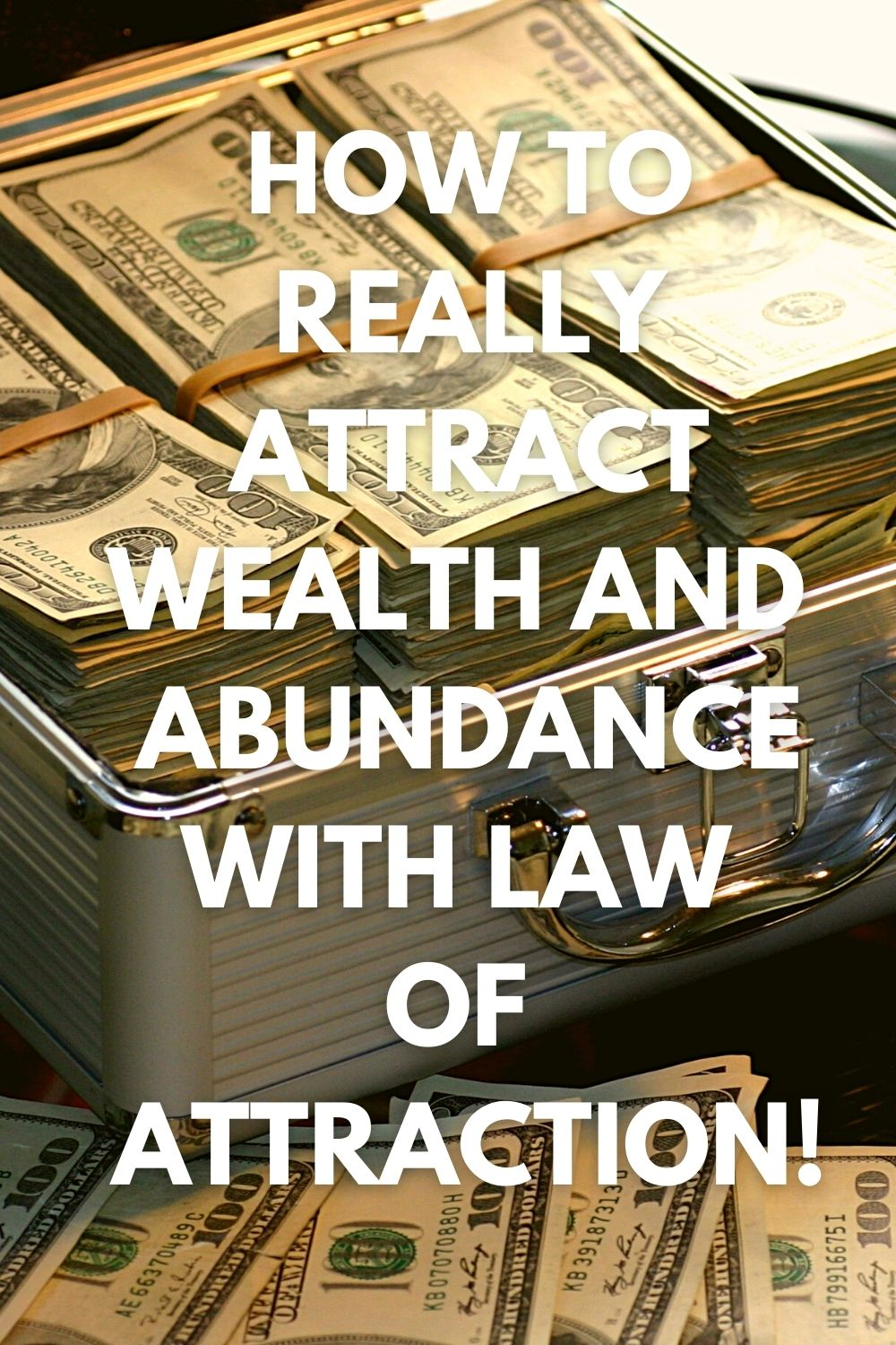 How to really attract wealth and abundance with law of attraction!