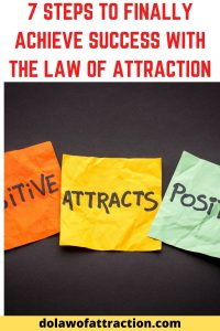 law of attraction success and 7 steps