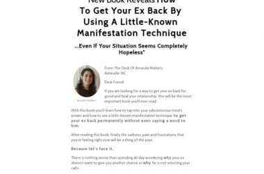 Manifest Your Ex Back