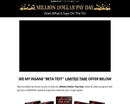 Million Dollar Pay Day