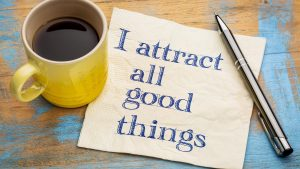 attract good things with law of attraction wallpaper