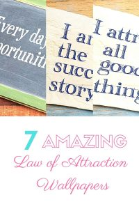 law of attraction wallpapers