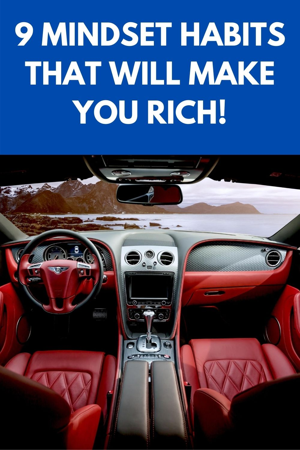9 mindset habits that will make you rich!