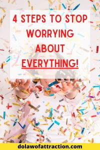 just stop worrying