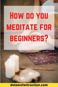 How do you meditate for beginners