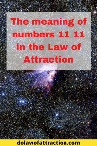 What does 1111 mean in law of attraction_