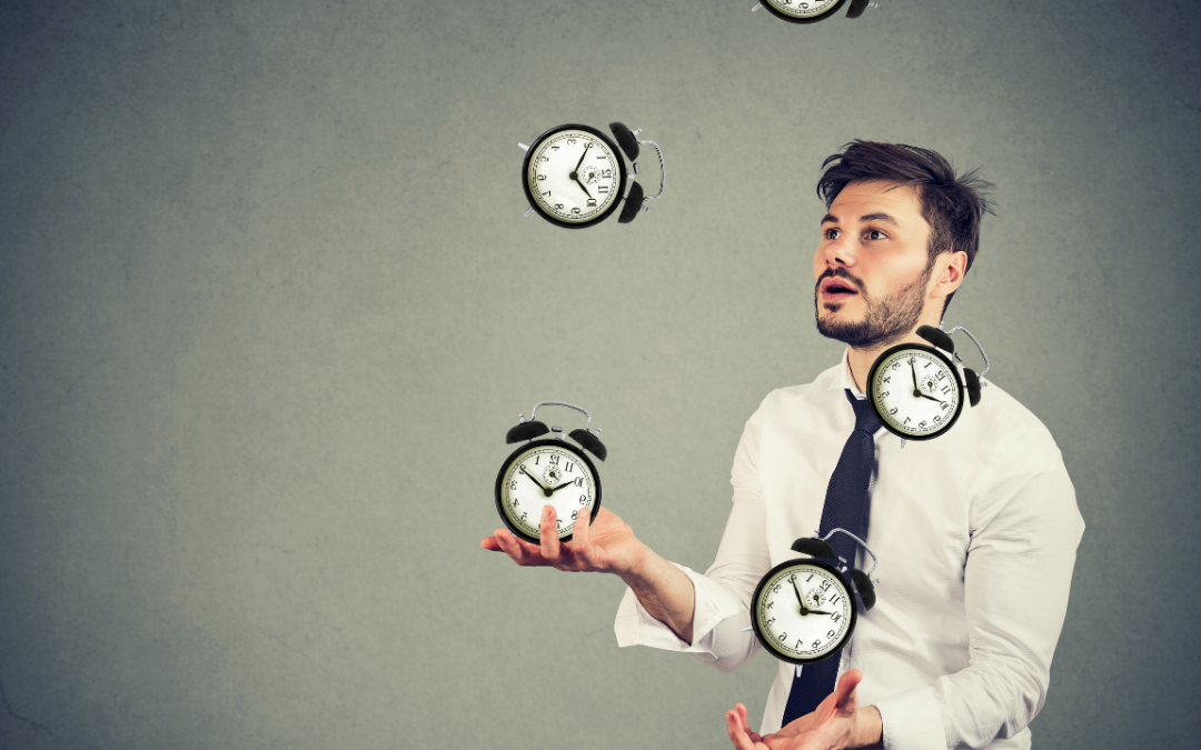 Time management techniques using the law of attraction