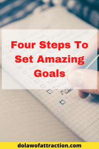 how to set amazing goals today